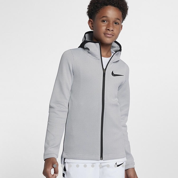 cbe7afb03 Nike Shirts & Tops | Boys Therma Flex Showtime Basketball Hoody ...